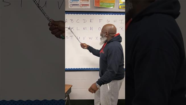 """Teacher Uses Korn's """"Coming Undone"""" To Teach the Alphabet"""