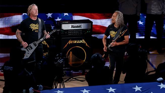 "Metallica Rocks ""The Star-Spangled Banner"" Again"