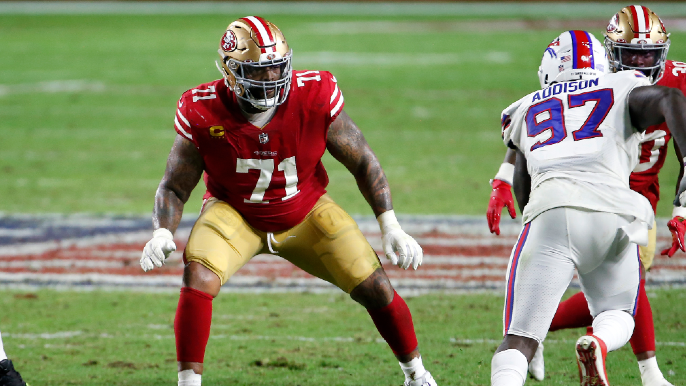 Trent Williams reveals how one Kyle Shanahan call changed free agency path from Chiefs to 49ers