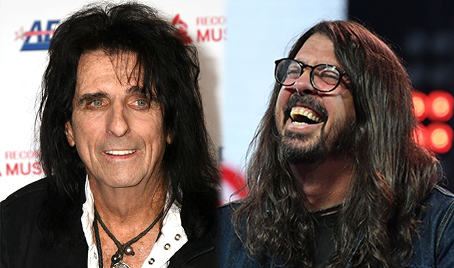 Alice Cooper Says he Would Gladly Front Foo Fighters 'If They Ever Needed a Really Sick Lead Singer'