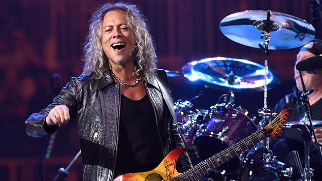 Kirk Hammett To Appear On New Santana Album