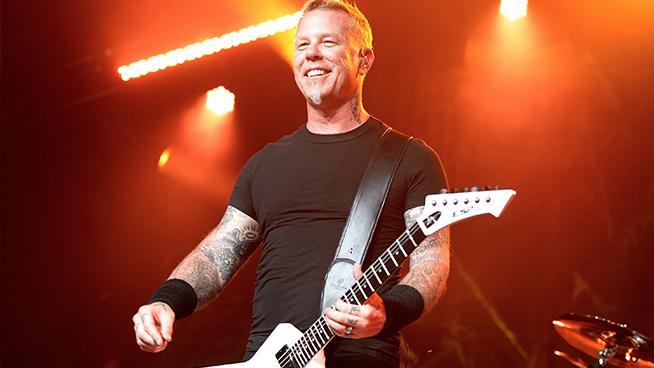 James Hetfield, Carlos Santana, Jack Black and More Set to Rock 'Little Kids Rock' Benefit