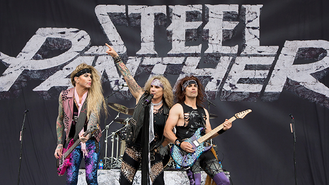 Steel Panther Has Been Recording Their New Album