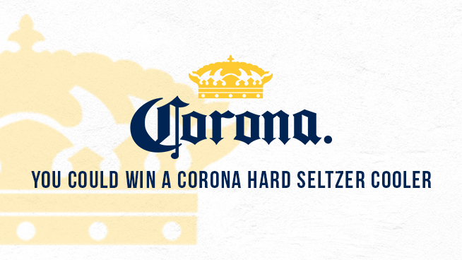 You Could Win A Corona Hard Seltzer Cooler