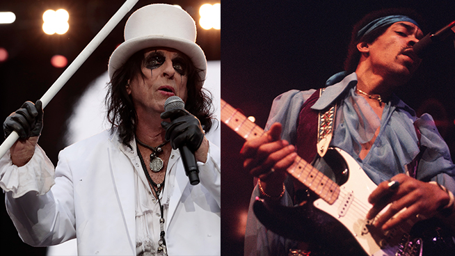 What Do You Get When You Mix Alice Cooper, Jimi Hendrix, and a Vibrating Bed?