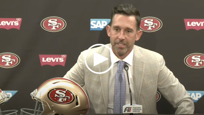 Shanahan, Lynch break down Lance selection, Rodgers interest and where Garoppolo fits in
