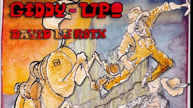 """David Lee Roth Drops New Song """"Giddy-Up!"""""""