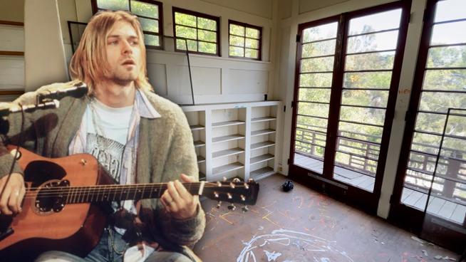 "Tour Kurt Cobain's ""In Utero"" House"