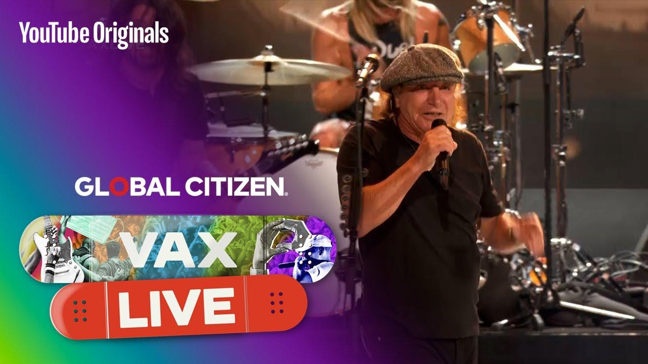 Eddie Vedder, Foos Rock Covid Vax Show