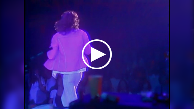 Watch: Mick Jagger Entrances Crowd in 1975 Gimme Shelter Performance
