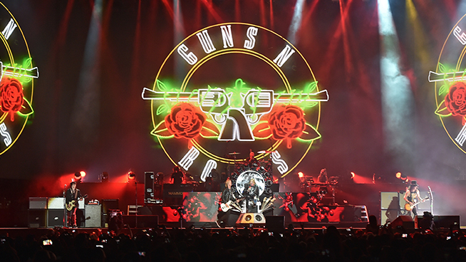 Guns N' Roses Announce Rescheduled Tour With New Dates, Bay Area Stop Included