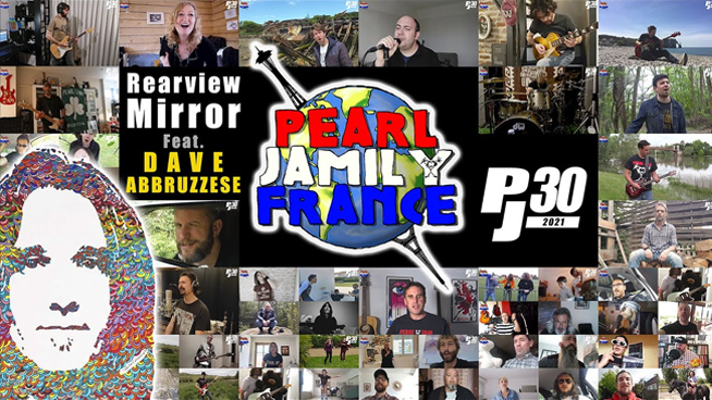 """Ex-Pearl Jam Drummer Teams With Fans To Cover """"Rearviewmirror"""""""