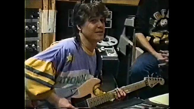 Rare Home Footage Shows Eddie Van Halen Writing 'Amsterdam' Years Before Release
