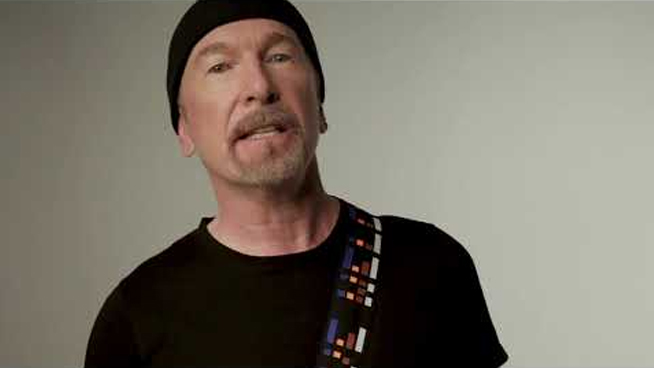 The Edge Designing Guitar Straps For Charity
