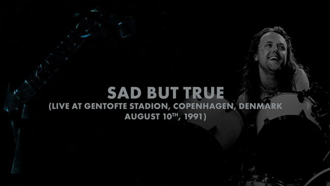 Metallica Shares Another Vintage Performance Of 'Sad But True'