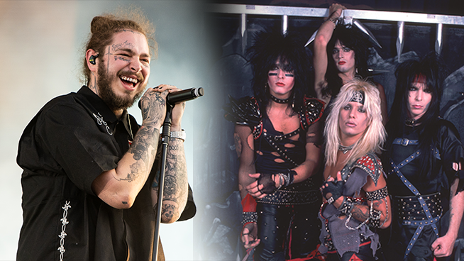 Post Malone to pay tribute to Motley Crue with new song