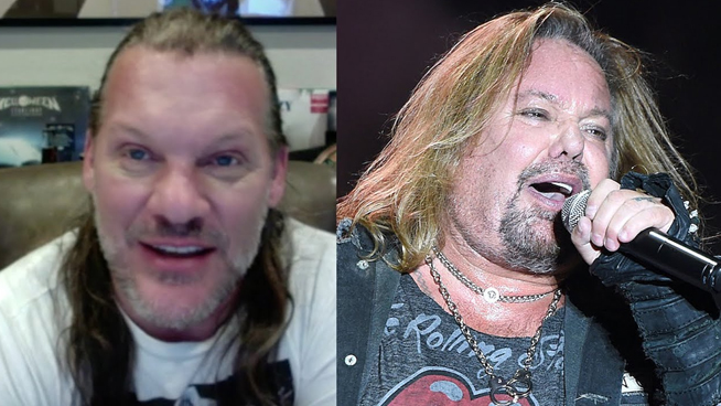Chris Jericho Disappointed to See Vince Neil Out of Shape