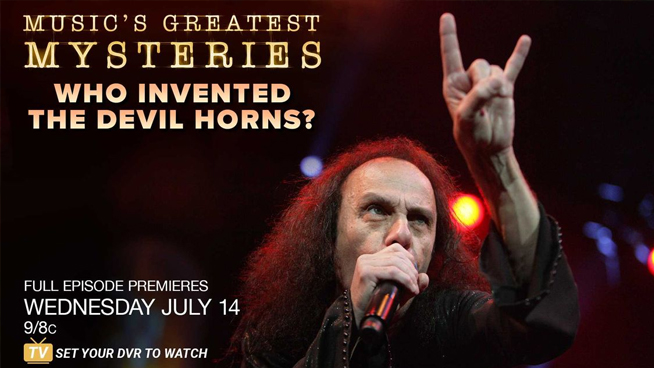 Who Invented The Devil Horns?
