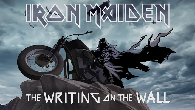 Iron Maiden Release New Song, Epic Video For 'The Writing On The Wall'