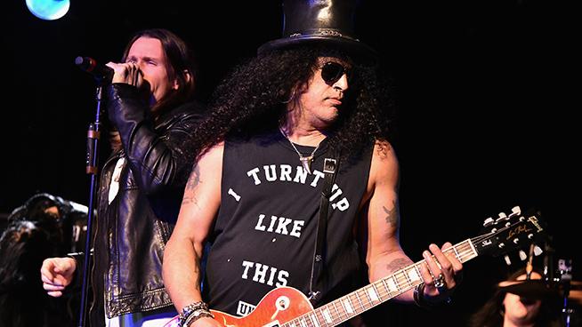 Slash Releasing Solo Album On Gibson Records
