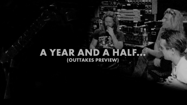 Metallica Release Trailer for a Year and a Half in the Life of Metallica Outtakes DVD
