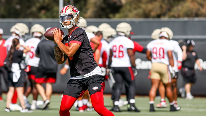 49ers Practice Report: Lance gets one with the ones, shines again