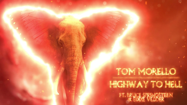 """Tom Morello Recruits Bruce Springsteen, Eddie Vedder For Cover Of """"Highway To Hell"""""""