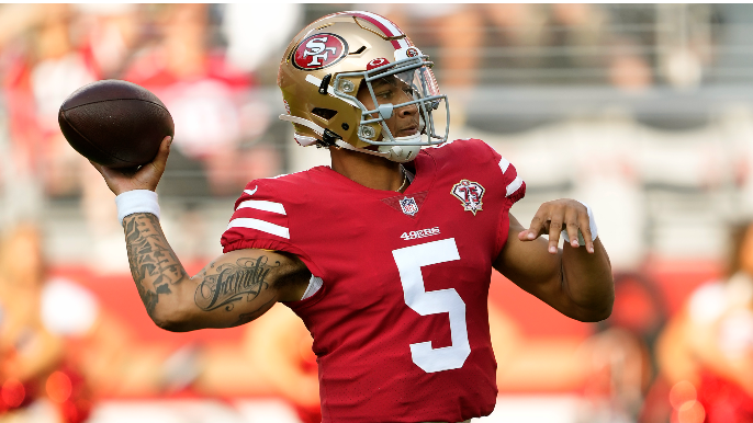 Trey Lance does good things, then bad things, and other notes from 49ers' preseason opener