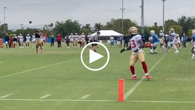 49ers Practice Report: Lance gets a real run with the starters