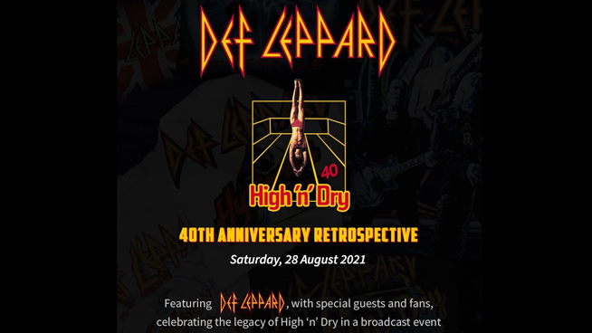 Def Leppard to Host 40th Anniversary Livestream Event This Weekend