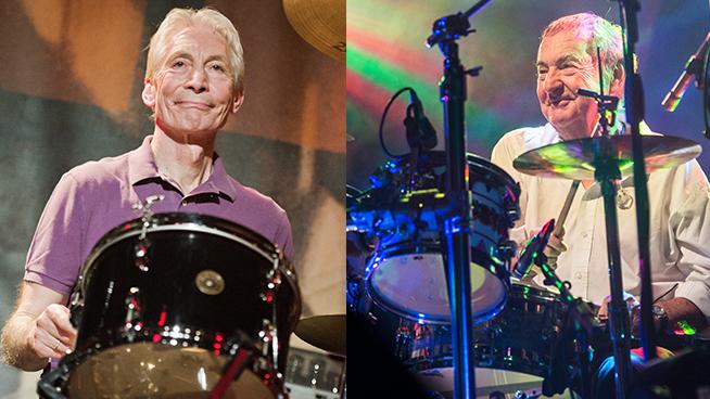 Nick Mason Declares Charlie Watt 'Most Underrated' Rock Drummer