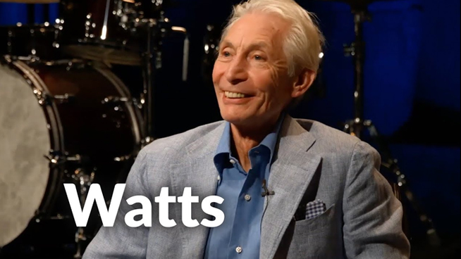 Red Hot Chili Peppers Drummer Chad Smith: My Day With Charlie Watts
