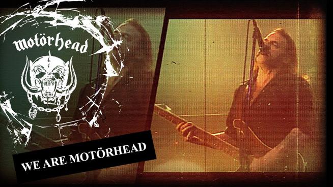 "Motörhead Shares New ""We Are Motörhead"" Video"