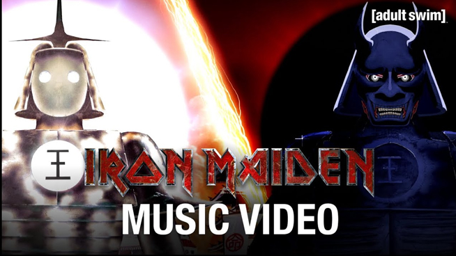 Iron Maiden Release Animated Video for Stratego
