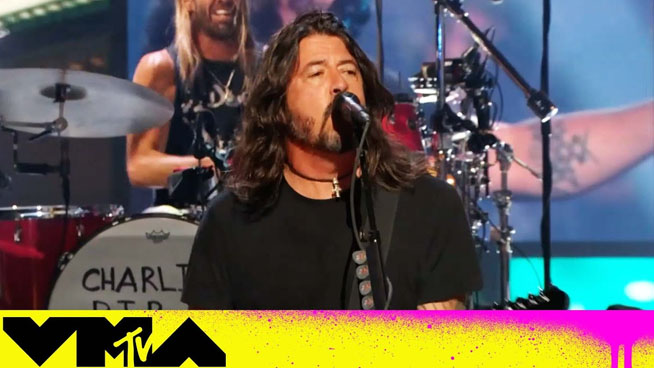MTV VMAs 2021: Foo Fighters Take Home Global Icon Award, Perform Hits Medley