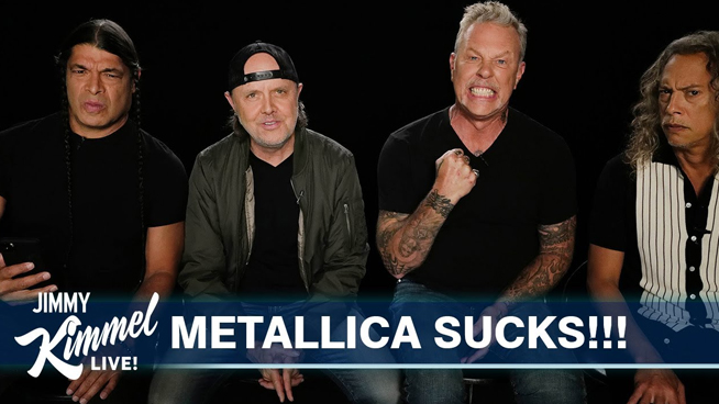 Metallica Responds to One-Star Amazon Reviews