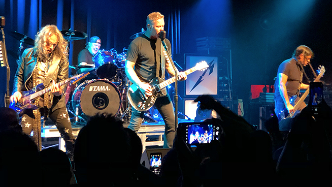 Metallica Performs Surprise Concert At Small San Francisco Venue