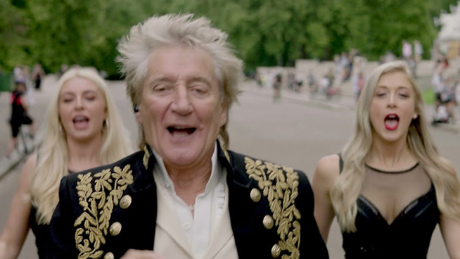 Rod Stewart Announces New Album, Releases New Track Called 'One More Time'