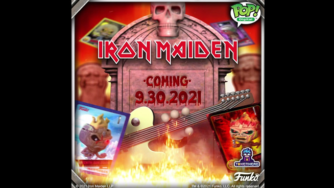 Iron Maiden's Eddie Will Be The First-Ever Funko Pop! NFT Series