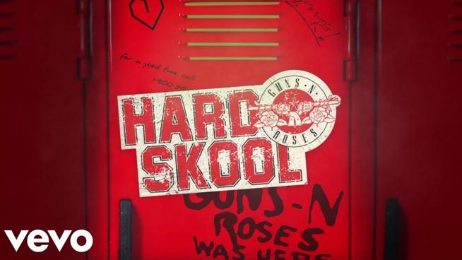 Guns N' Roses Releases New Song 'Hard Skool'