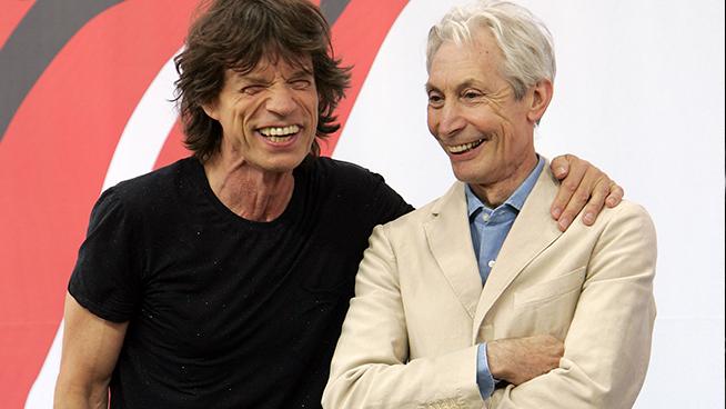 Jagger Misses Charlie Watts