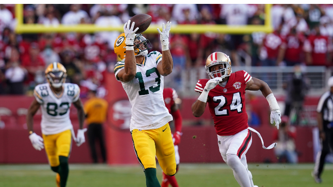 49ers can't overcome first-half dud, lose to Packers in stunning fashion
