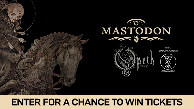 You Could Win Tickets To Mastodon