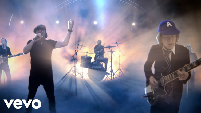 """Power Up with AC/DC's New Video """"Through The Mist Of Time"""""""