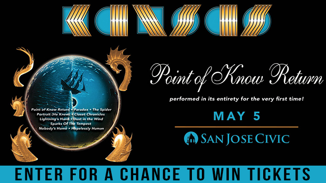 Try To Win Tickets to See Kansas