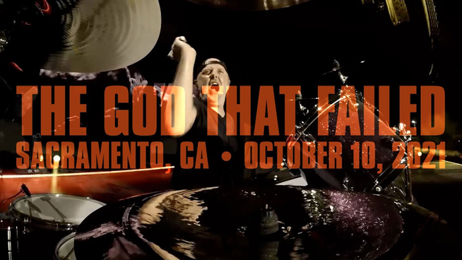 """Metallica Release Official """"The God That Failed"""" Live Video From Aftershock 2021"""