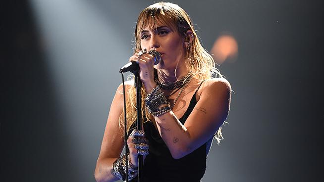 Lars Ulrich Interviews Miley Cyrus