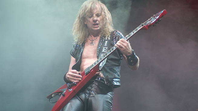 KK Downing Wishes Replacement Richie Faulkner a 'Speedy Recovery'
