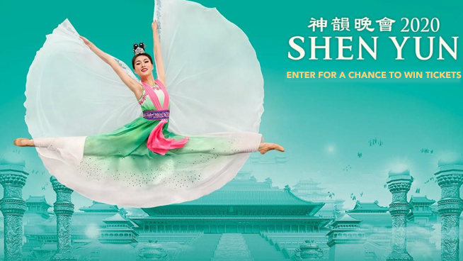Enter for your chance to win tickets to Shen Yun Performing Arts!