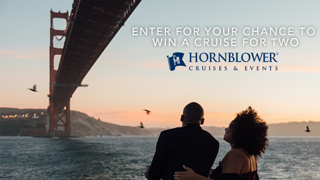 Enter for your chance to win a Hornblower cruise for two!